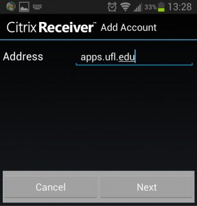 Android Add Account
