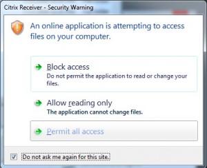 Files Permit Access